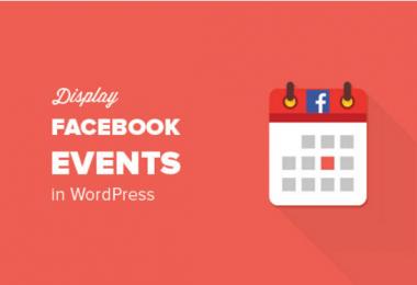 display Facebook Events